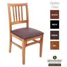 Cadeira Classe A  Estofado ou Madeira para Bares - Cod: 2204