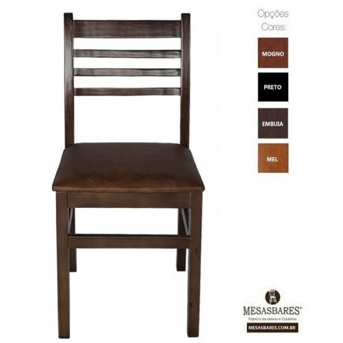 Cadeira Estofada ou Madeira para Lanchonete - Cod: 5001