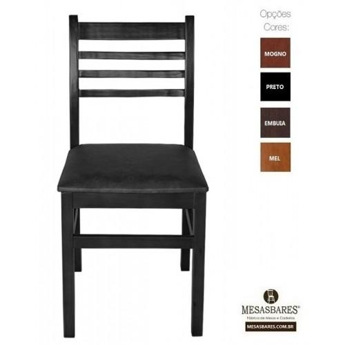 Cadeira Estofada ou Madeira para Lanchonete Cor Mel - Cod: 5001