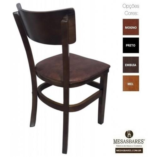 Cadeira Estofada ou Madeira para Bares Embuia - Cod: 5003