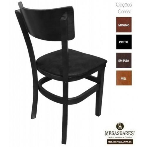 Cadeira Estofada ou Madeira para Bares Mel - Cod: 5003
