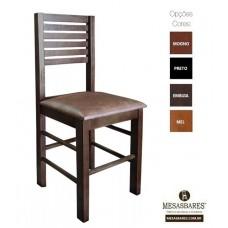 Cadeira Assento Estofado ou Madeira para Bar Embuia - Cod: 5006