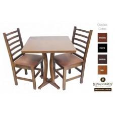 Conjunto Mesa 70x70 e Cadeiras - Cod: 1857